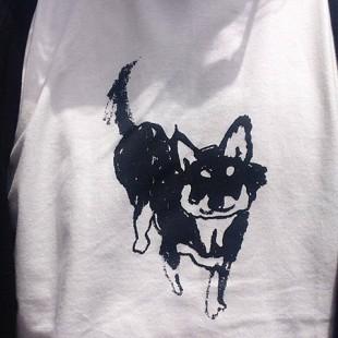Tシャツ|チワワ|お散歩バッグ