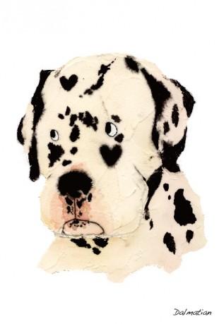 かわいいLINEスタンプ|犬|わかばやしたえこ